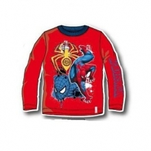 marvel-spiderman-kinder-langarmshirt-rot