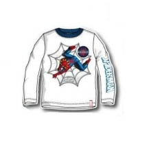 marvel-spiderman-kinder-langarmshirt-weiss