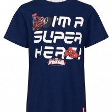 marvel-spiderman-kinder-tshirt-blau