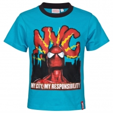 spiderman-marvel-kindertshirt-tuerkis